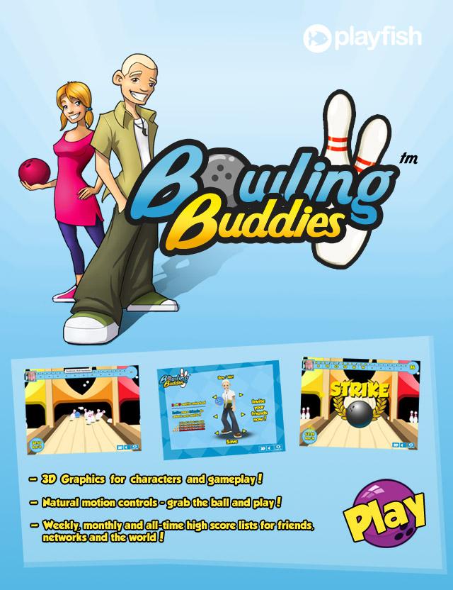 Juego Facebook: Bowling Buddies