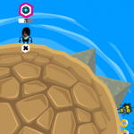 Crazy Planet, juego de facebook similar al Worms