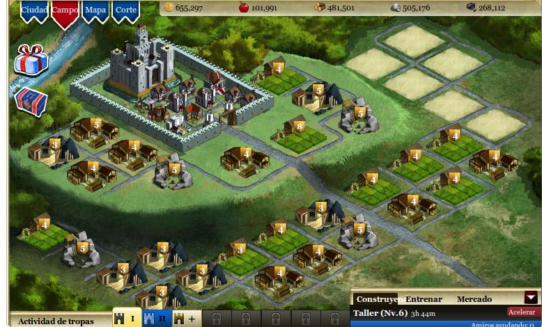 Consejos Kingdoms of Camelot II