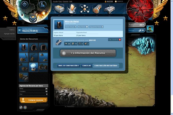 Nemexia, juego de estrategia online