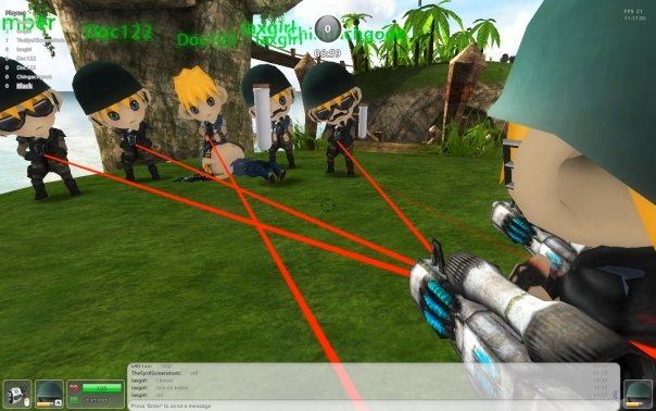 Paradise Paintball 3D en Facebook