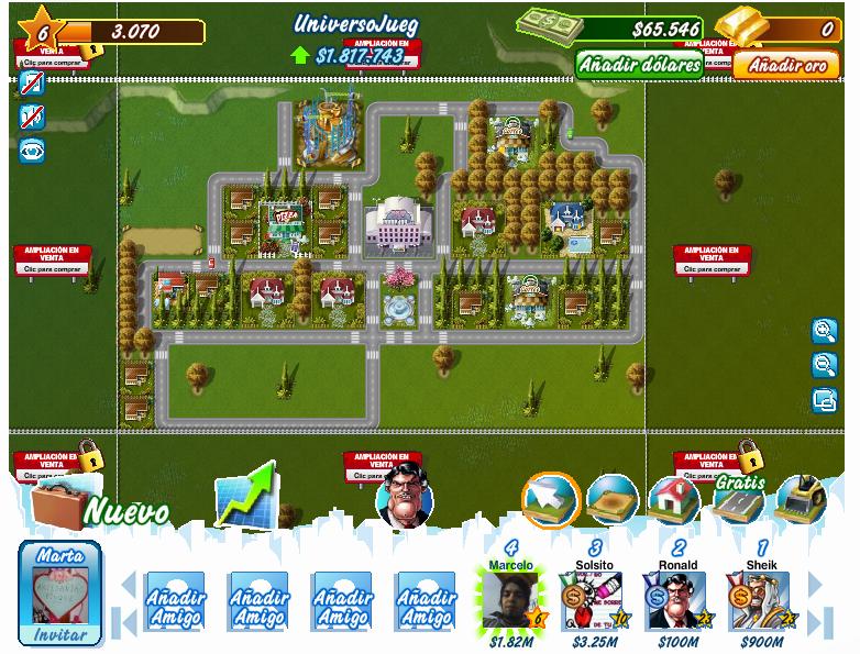 Millonaire City, juego de Facebook y algunos Consejos