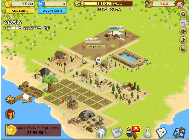 My Empire, juego estrategico en Facebook
