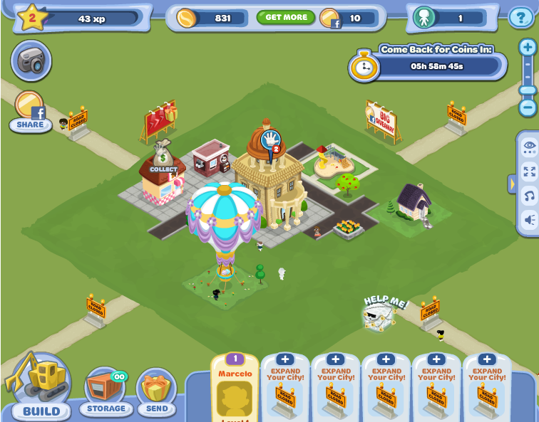 Hello City, nuevo juego Facebook