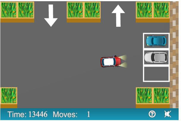 Parking Mania, juego de manejo en facebook