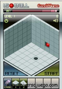 Isoball,  juego de  habilidad en Facebook