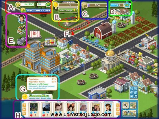 CityVille, consejos para el nuevo juego exito de Facebook