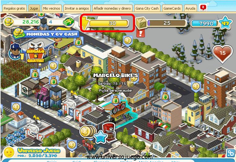 Ahorrar energia en el City Ville