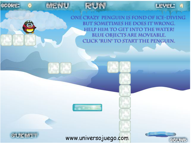 Crazy Penguin, entretenido juego en Facebook