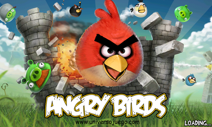 Angry Birds, juego para moviles con Android