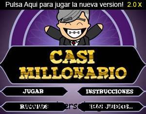 Casi millonario (juego en flash)