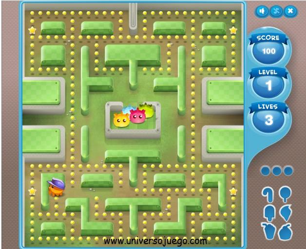 Juego Facebook: Pacman / Waka waka