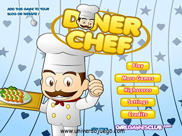 Juego en Flash: Diner Chef