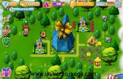 Magic Land, juego de construcción y magia para Facebook