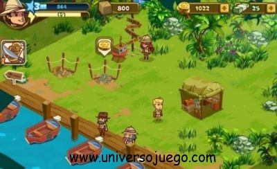Adventure World, juego de aventuras para Facebook