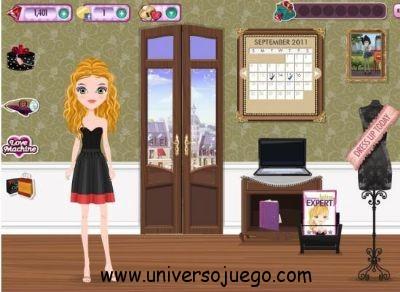 Coco Girl, divertido juego de vestir en Facebook
