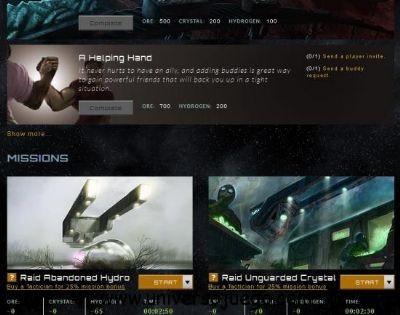 Stardrift Empires, un juego de números para Facebook