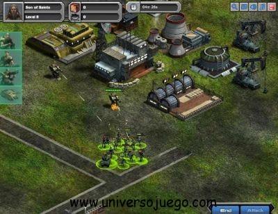 War Commander, juego de estrategia para Facebook