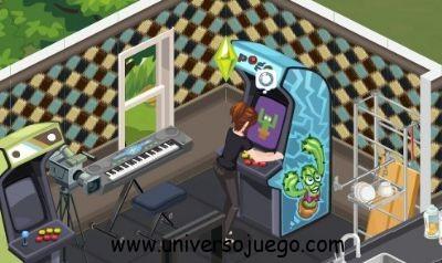The Sims Social, reclama una maquina de Arcade gratis
