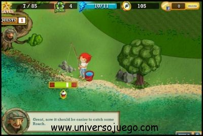 Tight Lines Fishing, interesante juego de pesca para Facebook