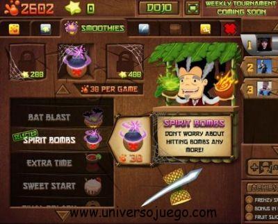 Fruit Ninja Frenzy, clásico de los móviles llega a Facebook