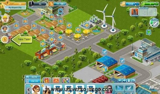Airport City para Facebook