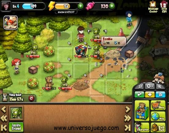 Juega en Facebook a Toys and Zombies