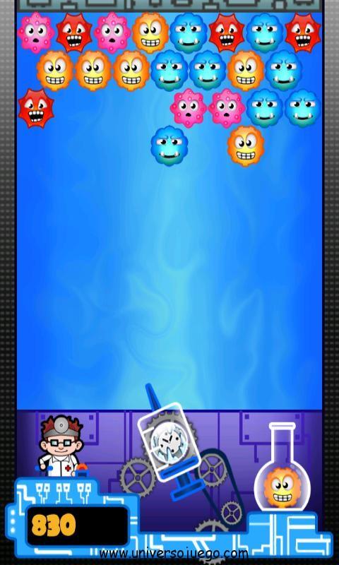 Dr Bubble, lucha contra los virus burbuja para Android