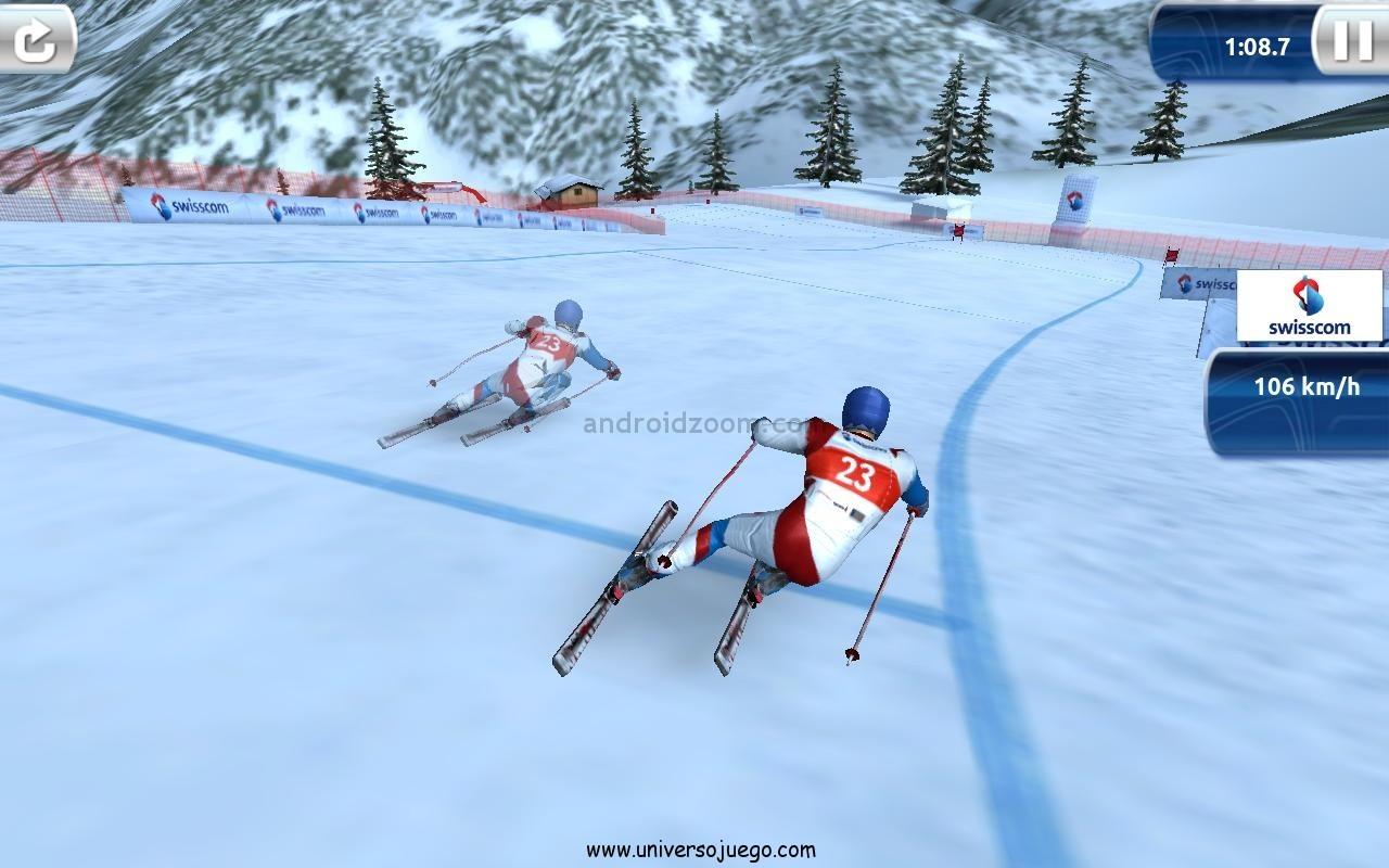 Ski Challenge 12 para disfrutar del ski en Android