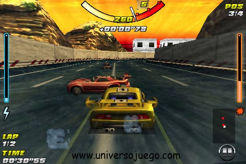 Raging Thunder 2, carreras de autos en tu Android