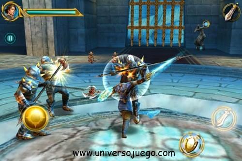 Sacred Oddysey espectacular aventura fantástica para Android