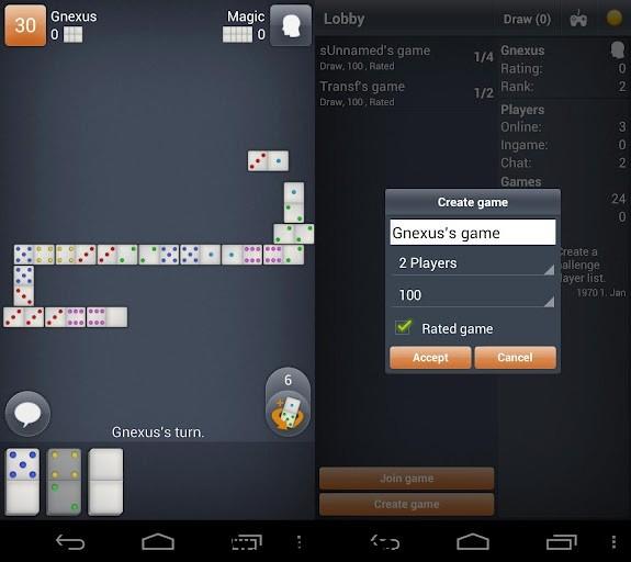 Dominoes: lleva el domino a tu Android