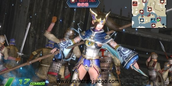Dinasty Warriors next para la nueva PS Vita de Sony