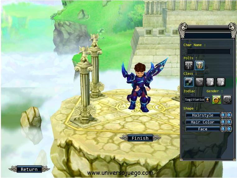 Gods war, increible juego en Facebook