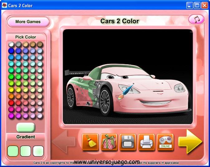 Cars 2 Color: coloreando a los personajes favoritos de Cars