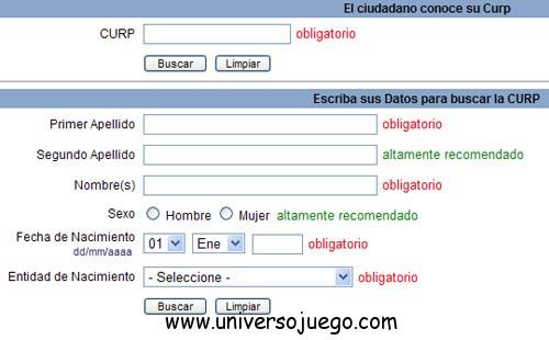 CURP, identificación única para México