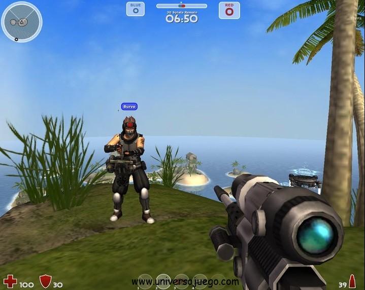 Uberstrike, juego de guerra en primera persona para Facebook