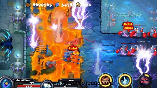 Defender II, un Tower Defense para Android