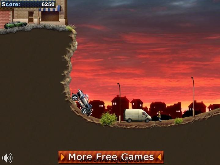 Hell Cops New Dimension, juega online con este loco coche policía
