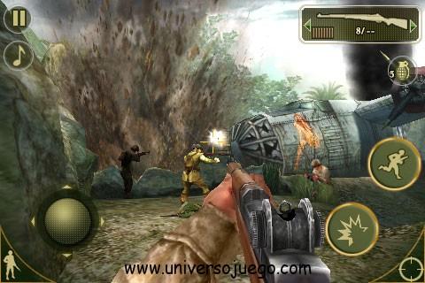 Brothers in Arms 2, juego de guerra para Android
