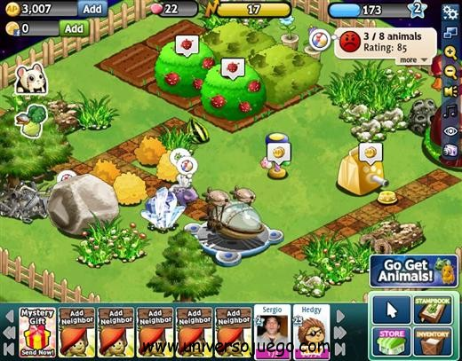 Animal Party un divertido juego para Facebook