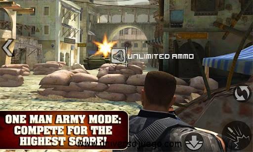 Frontline Commando, juego de acción para Android
