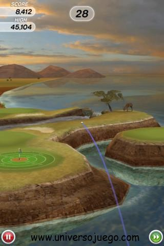 Flick Golf juega al golf con tu dispositivo Android