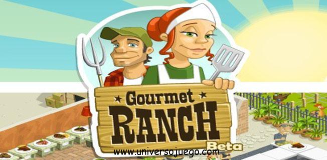 Gourmet Ranch para disfrutar jugando en Facebook