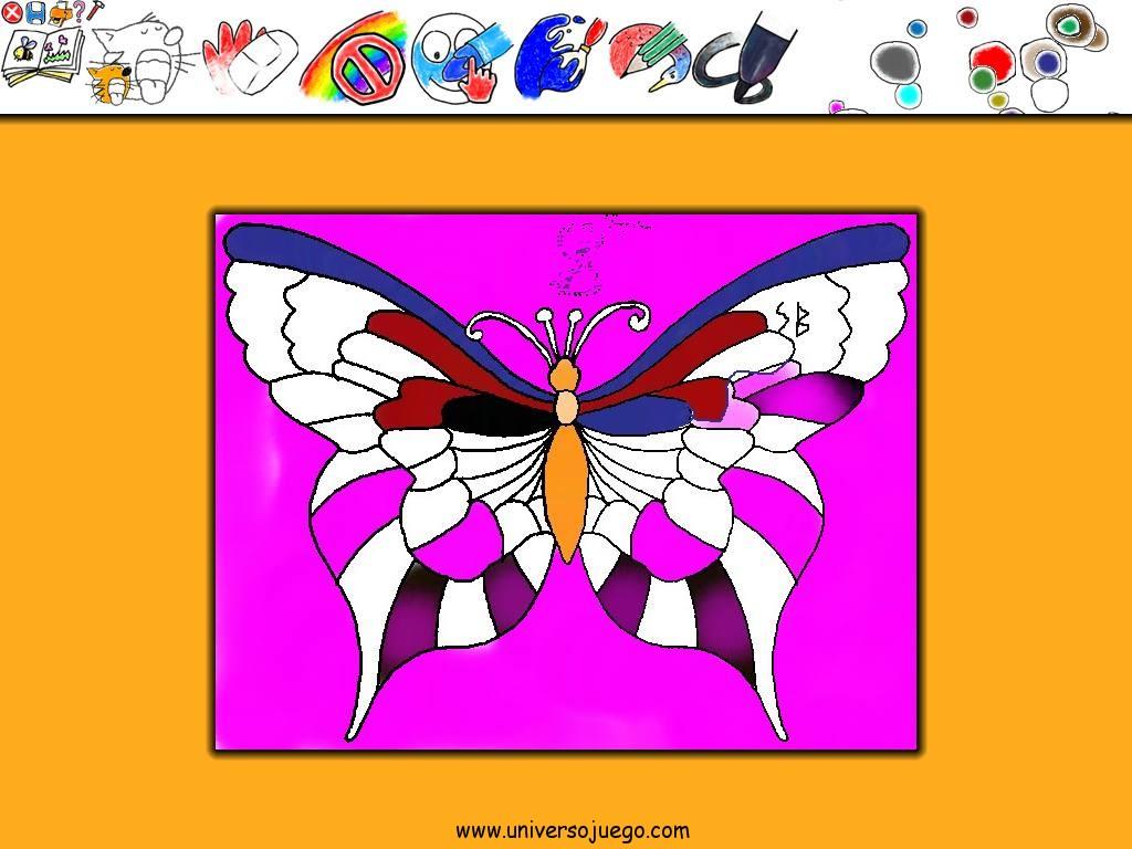 The MagicBook divertido, juego de colorear para niños