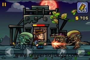 Aliens Invasion, juego de marcianos para Android