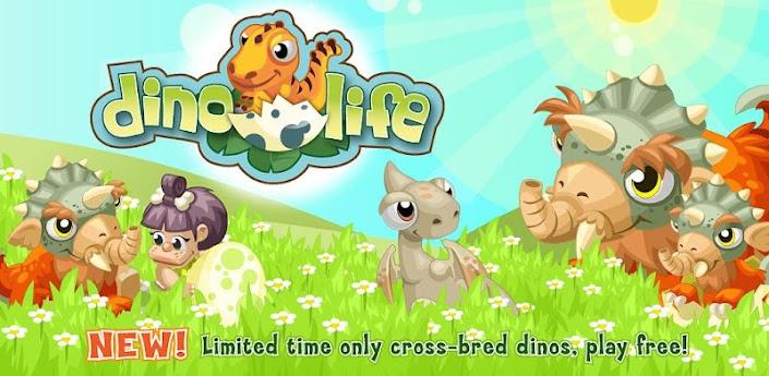 Dino Life, crea tu pueblo prehistórico en Android