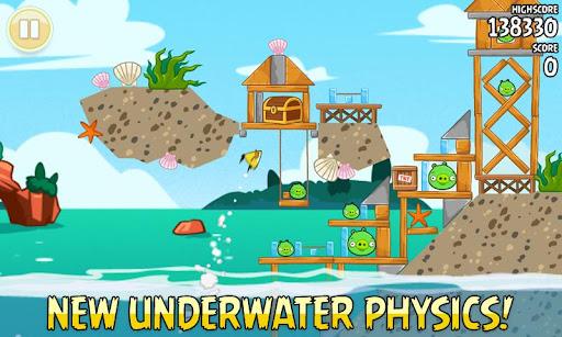 Angry Birds Season actualizado en Google Play para este verano