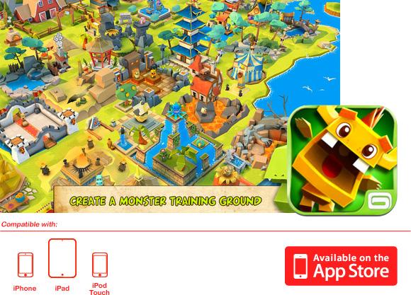 Monster Life un nuevo juego de Gameloft para dispositivos Apple