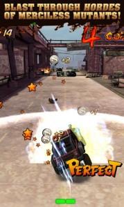 Mutant Roadkill, juego de acción para Android